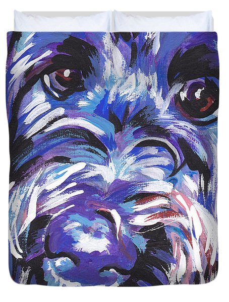 Labra Doodly Do Duvet Cover