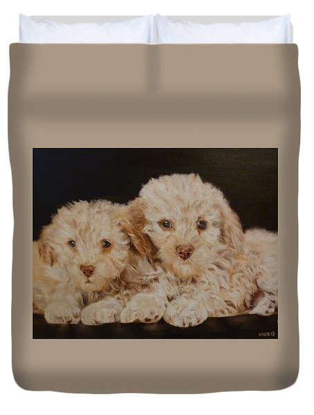 Labradorable Duvet Cover by Cherise Foster