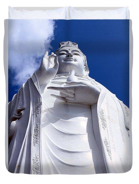 Lady Buddha Vietnam Duvet Cover