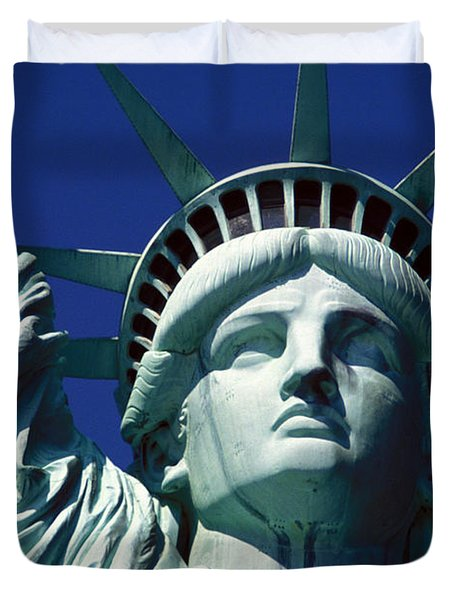 Lady Liberty Duvet Cover by Jon Neidert