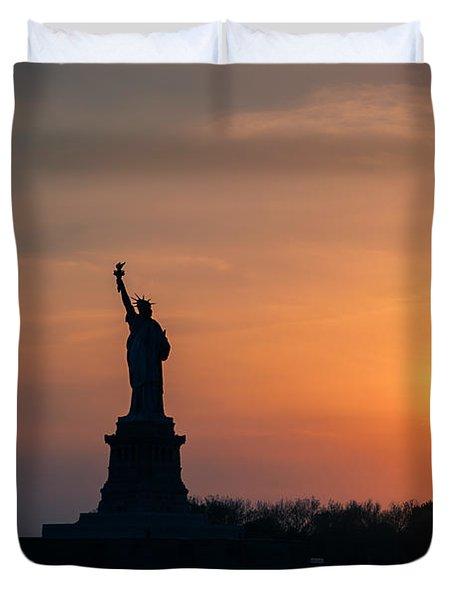 Lady Liberty Duvet Cover