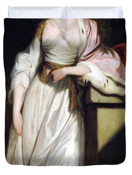 Lady Mary Isabella Somerset Duvet Cover by Robert Smirke