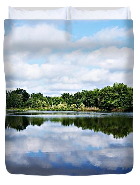 Lagoon IIi Duvet Cover by Joe Faherty