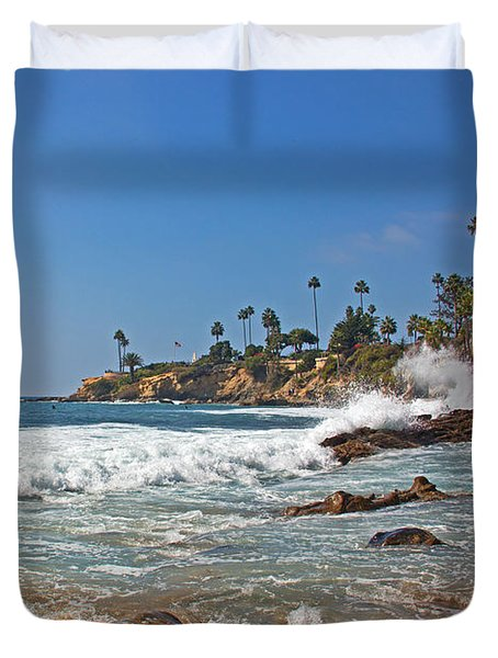 Laguna Beach Duvet Cover