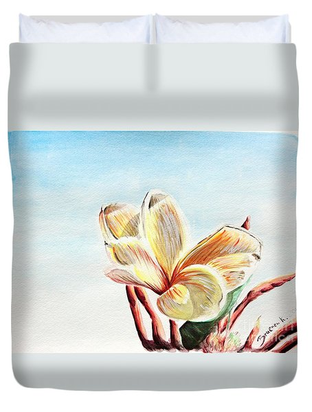 Laguna Flower Duvet Cover
