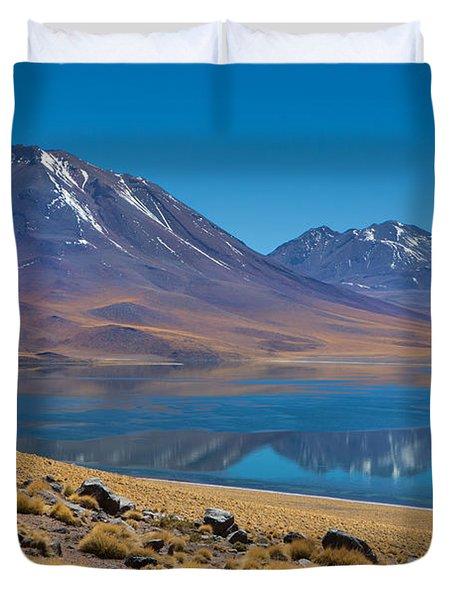 Laguna Miscanti Duvet Cover