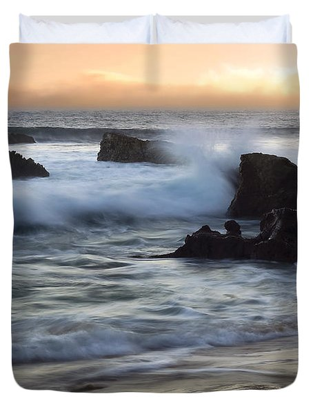 Laguna Sunset Duvet Cover