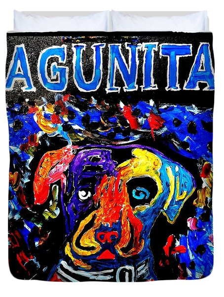 Lagunitas Dog Duvet Cover