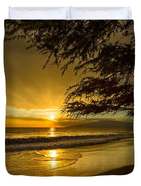 Lahaina Sun Burst Duvet Cover