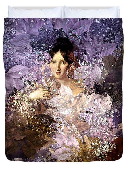 Laila - Des Femmes Et Des Fleurs Duvet Cover