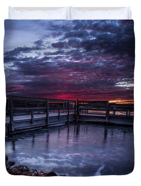 Lake Alvin Duvet Cover