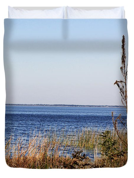 Lake Apopka 2 Duvet Cover by Chris Thomas