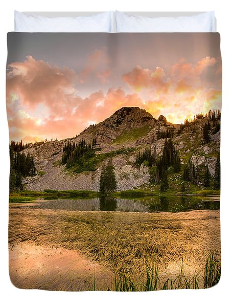 Lake Catherine Duvet Cover