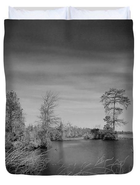 Lake Drummond Duvet Cover