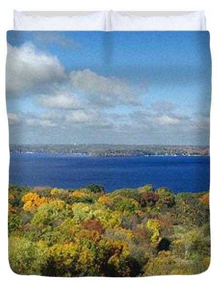 Majestic - Lake Geneva Wisconsin Duvet Cover