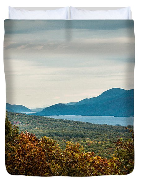 Lake George Duvet Cover