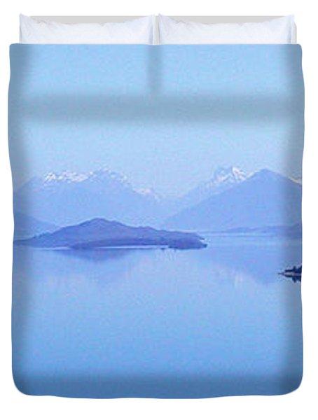 Lake Glenorchy New Zealand Duvet Cover