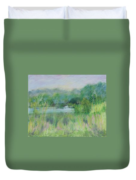 Lake Isaac Impressions Duvet Cover