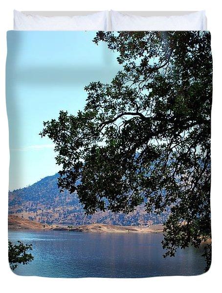Duvet Cover featuring the photograph Lake Isabella by Matt Harang