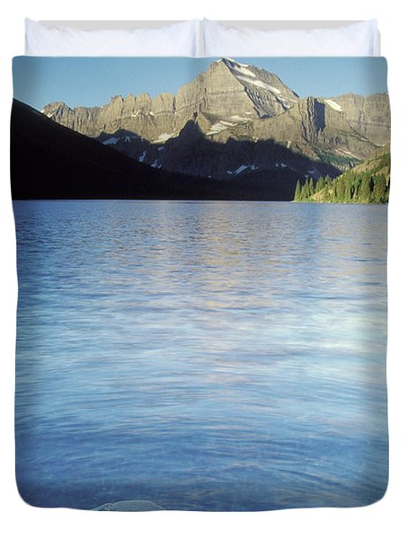 Lake Josephine In Early Morning Duvet Cover