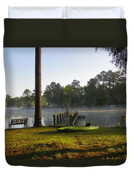 Lake Life Duvet Cover
