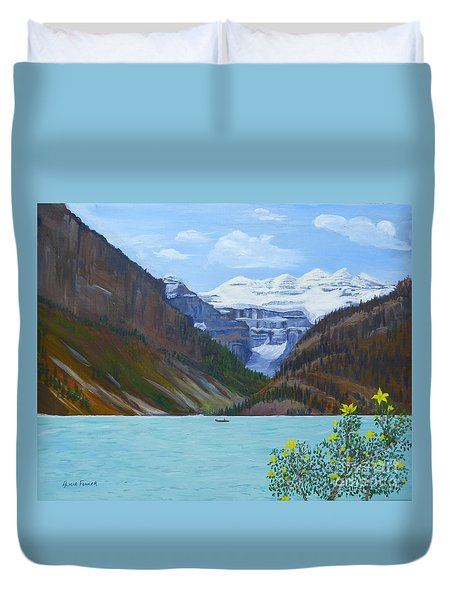 Lake Louise Duvet Cover