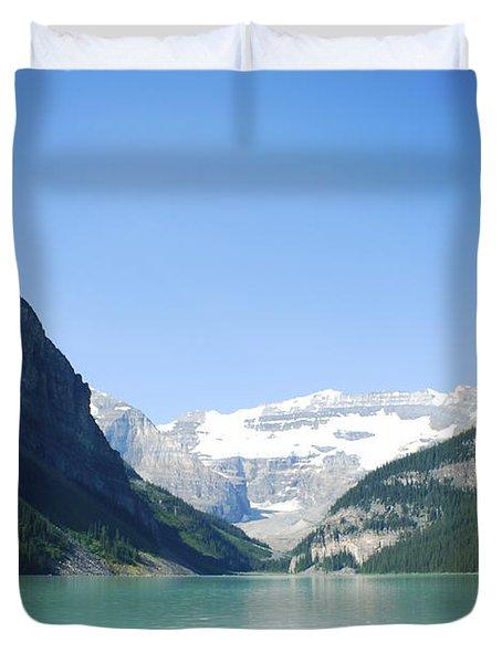 Lake Louise Alberta Canada Duvet Cover