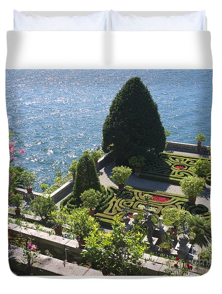 Lake Maggiore Magic Duvet Cover