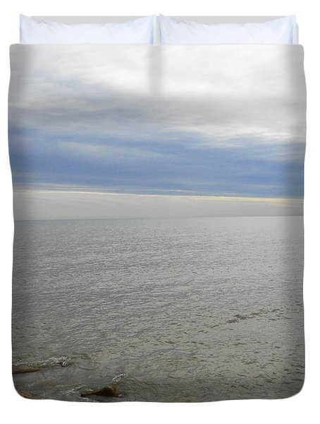Lake Michigan 3 Duvet Cover