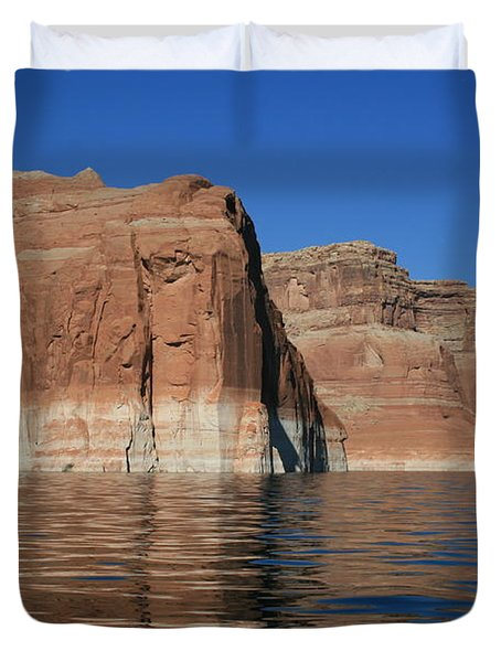 Lake Powell Cliffs Duvet Cover