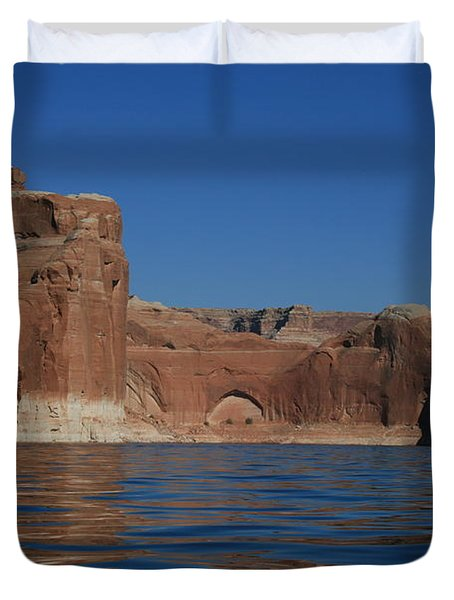 Lake Powell Landscape Duvet Cover