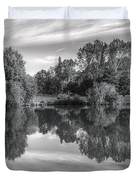 Lake Reflections Duvet Cover