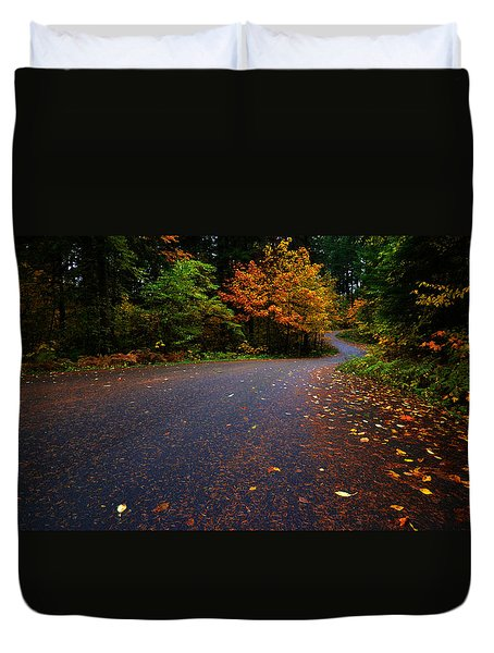 Lake Road Duvet Cover