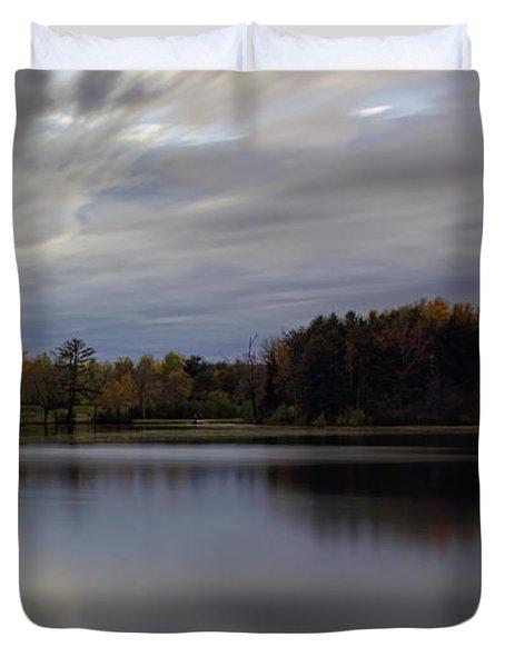 Lake Wausau's Bluegill Bay Park Duvet Cover