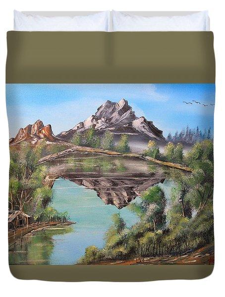 Lakehouse Duvet Cover