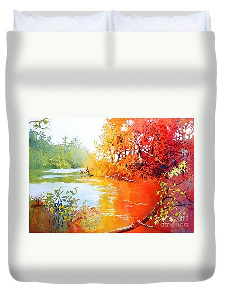 Lakescene 1 Duvet Cover