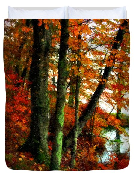 Lakeside Beauty Duvet Cover