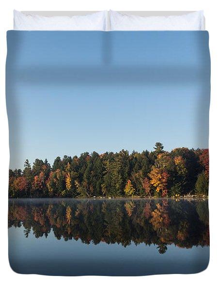 Lakeside Cottage Living - Peaceful Morning Mirror Duvet Cover