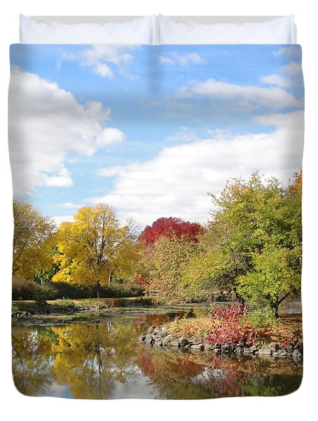 Lakeside Park Duvet Cover
