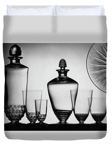 Lalique Glassware Duvet Cover