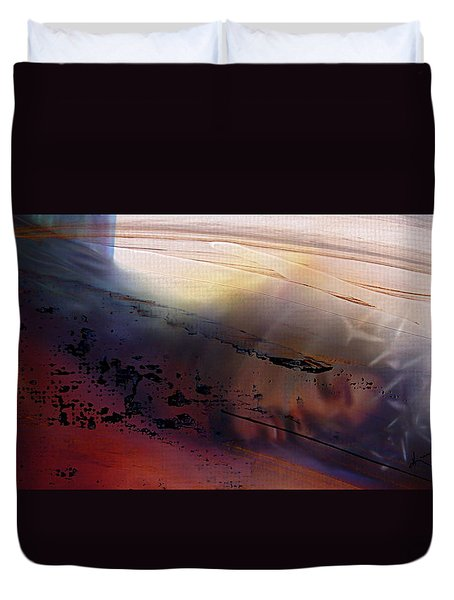Lamb Of God Duvet Cover by Kume Bryant