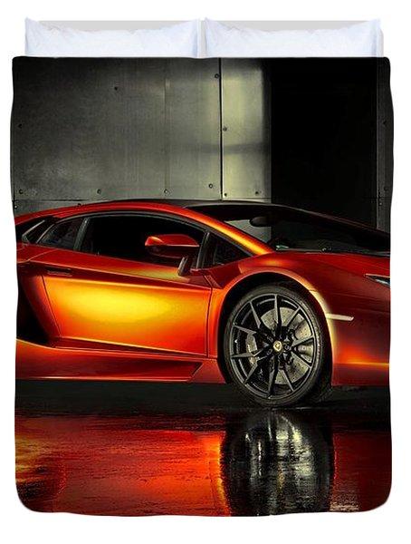 Lamborghini Aventador Duvet Cover