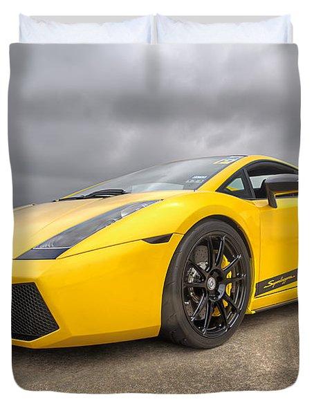 Lamborghini Gallardo Superleggera Duvet Cover