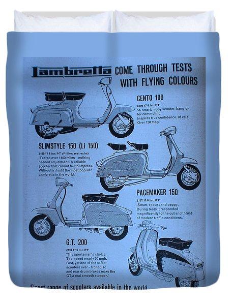Lambretta Style Duvet Cover