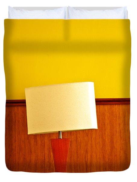 Lamp And Desk Duvet Cover by Jess Kraft