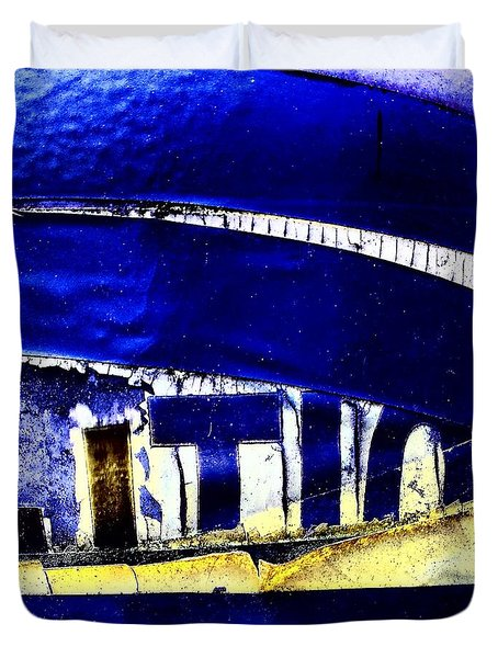 Lamppost 1c Duvet Cover