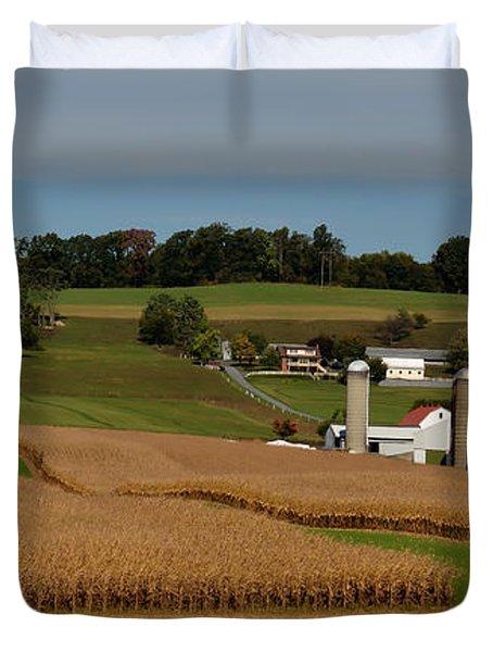 Lancaster County Farm Duvet Cover
