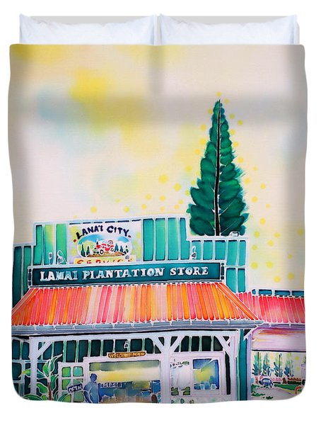 Lanai City Duvet Cover