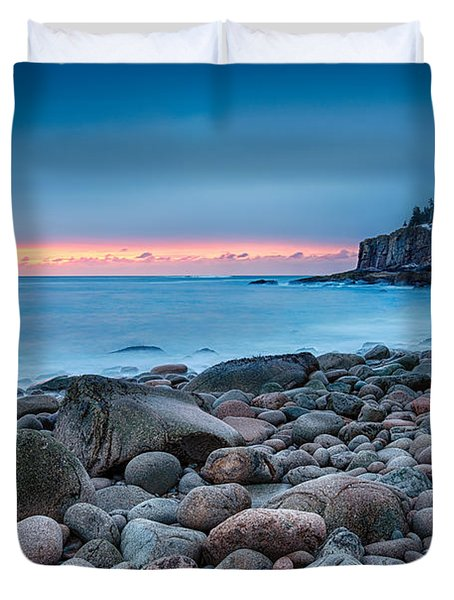 Land Of Sunrise Duvet Cover