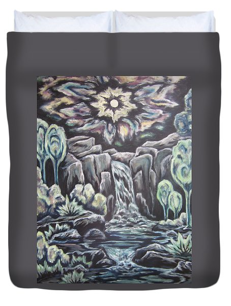Land Of The Setting Sun Duvet Cover